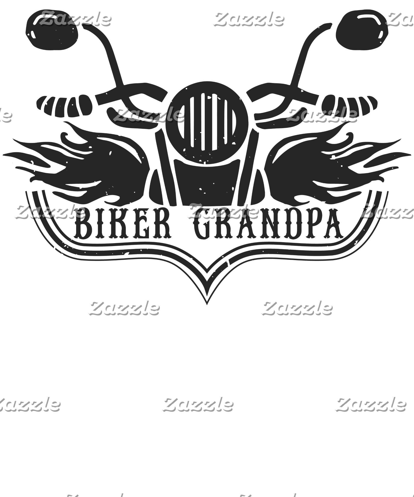 Biker Grandpa