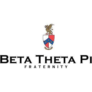 Beta Theta Pi with Crest - Color