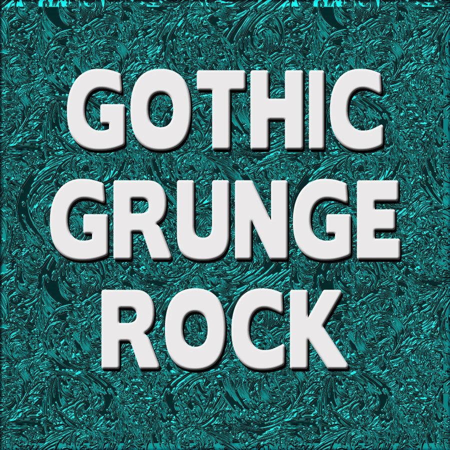 GOTHIC/GRUNGE  - SKULLS - ROCK