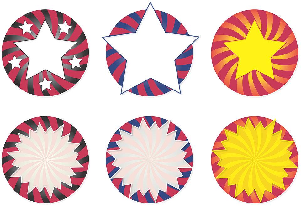 Stickers & Decorative Labels
