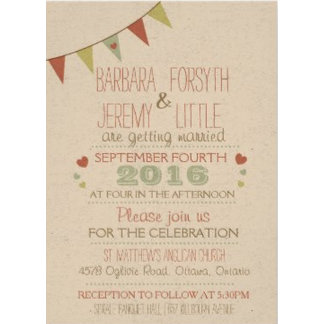 Bunting Shabby Chic Collection