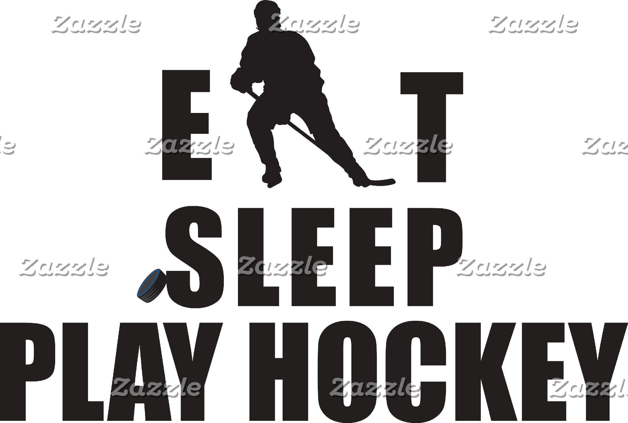 Eat Sleep Play Hockey T-Shirts Sweatshirts Gifts