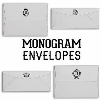 Monogram Envelopes