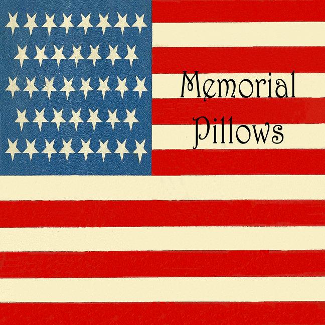 Memorial Pillows