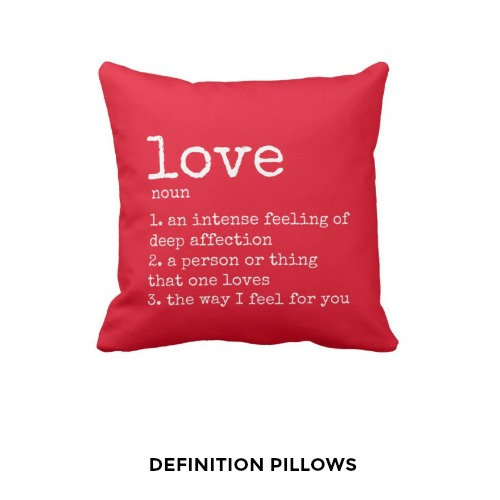 Definition Pillows