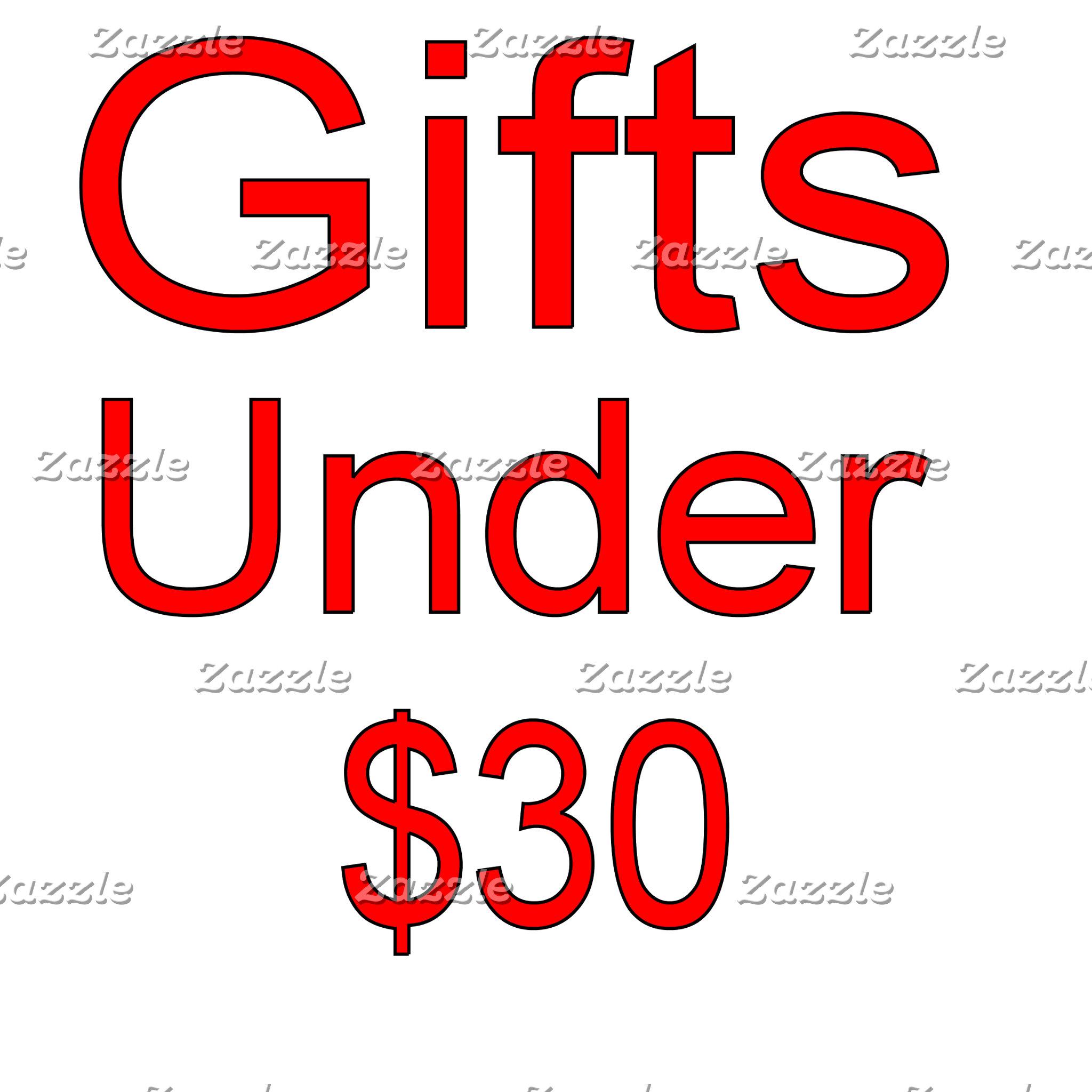 Under 30 Gifts