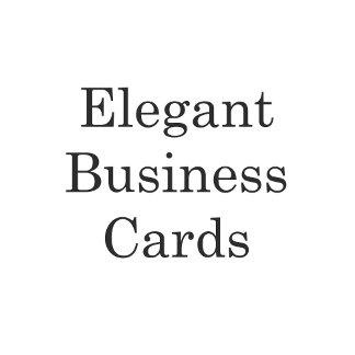 Elegant Business Cards