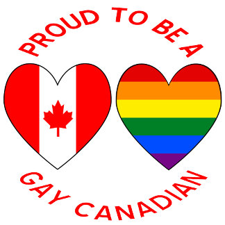 Proud to be a Gay Canadian