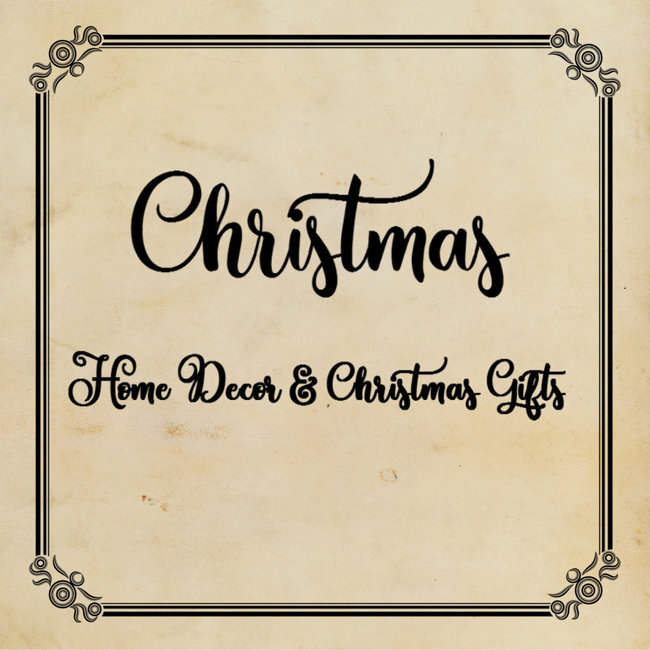 Christmas - Cards, Gifts & Home Decor