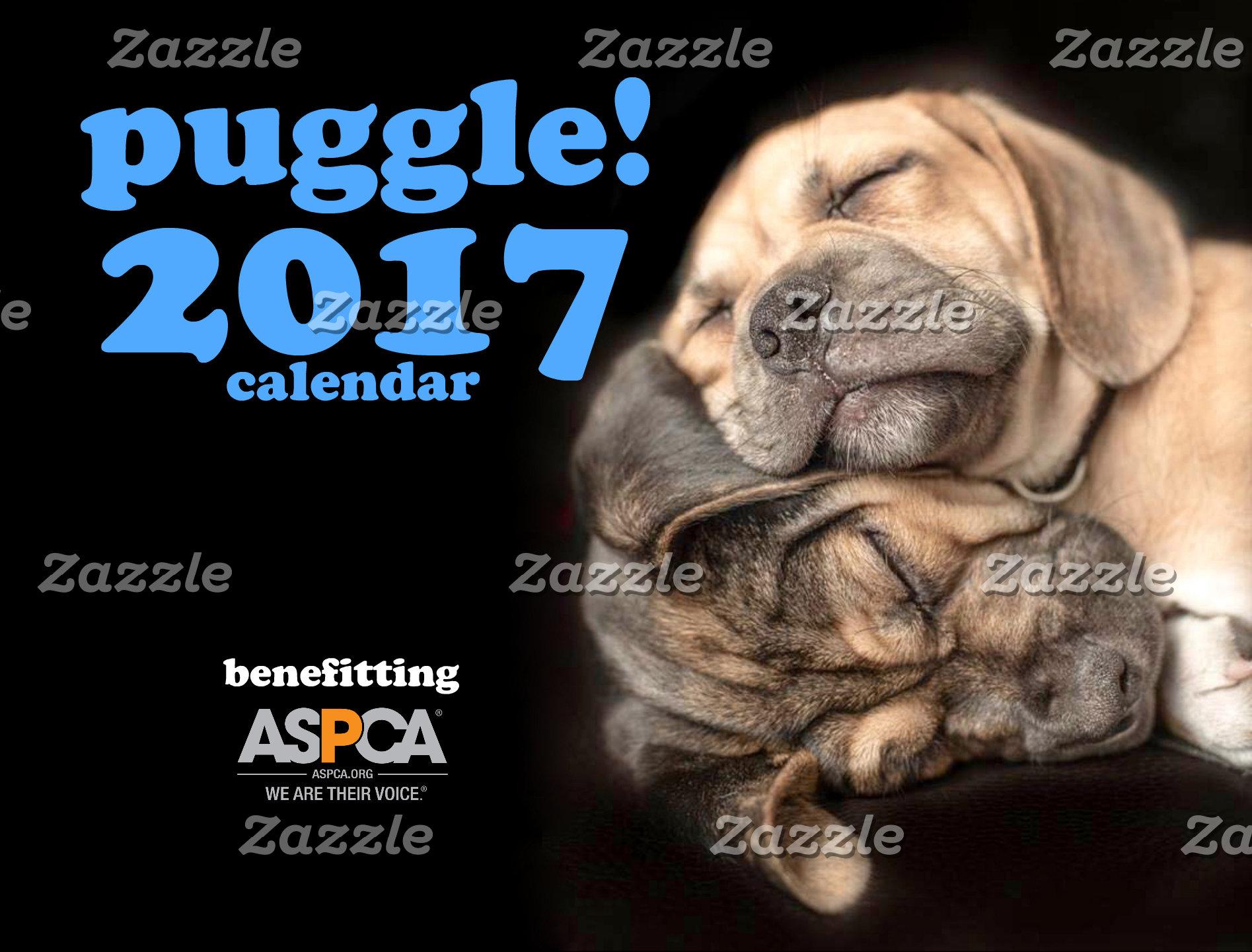 Puggle 2017 Calendar!