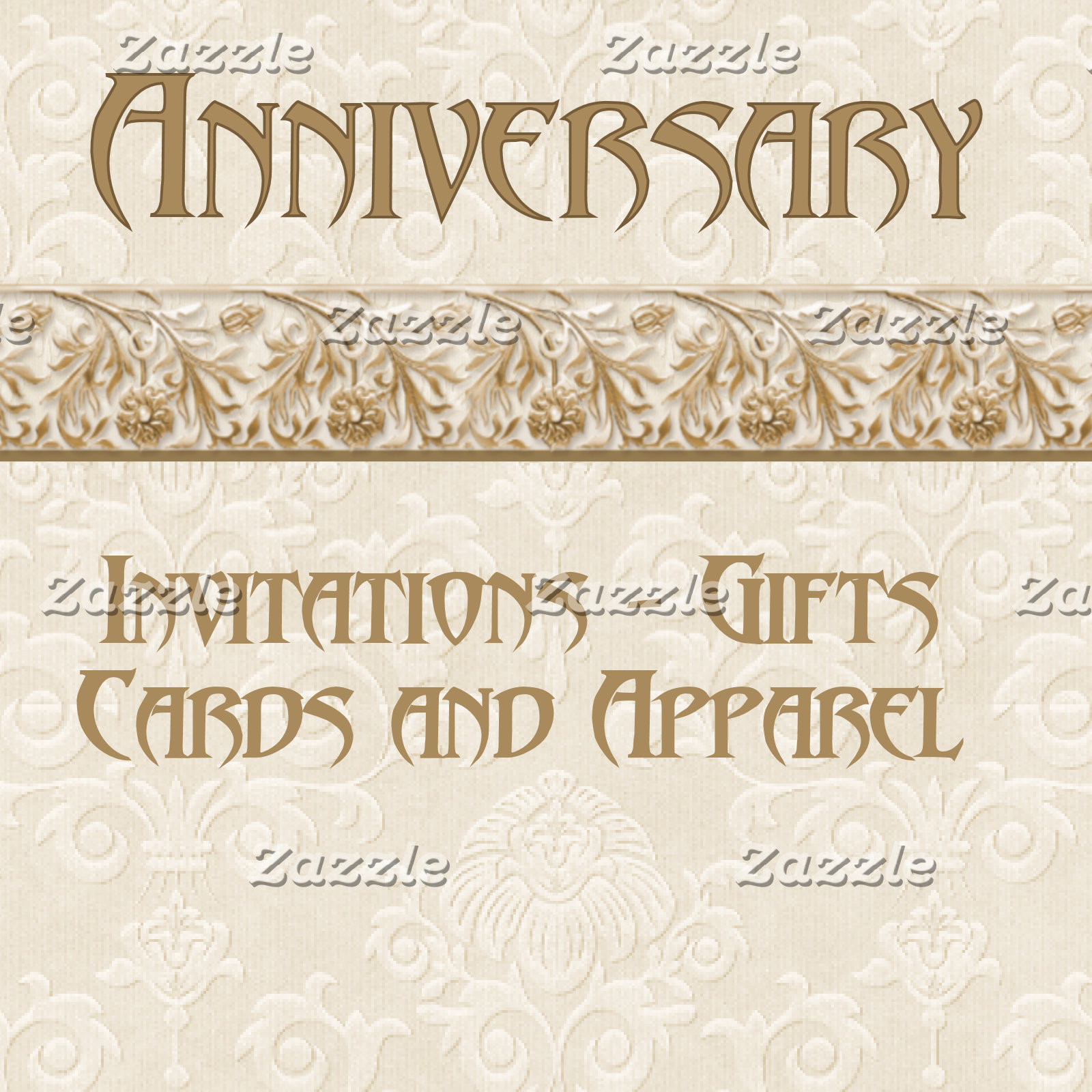 2. ANNIVERSARY -Cards- Gifts - Apparel