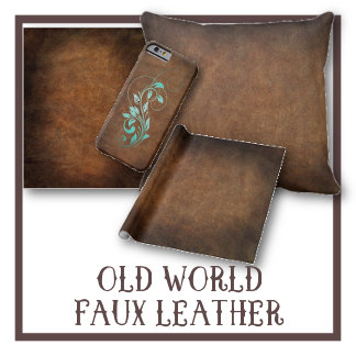 Old World Faux Leather