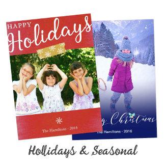 Holidays and Seasonal