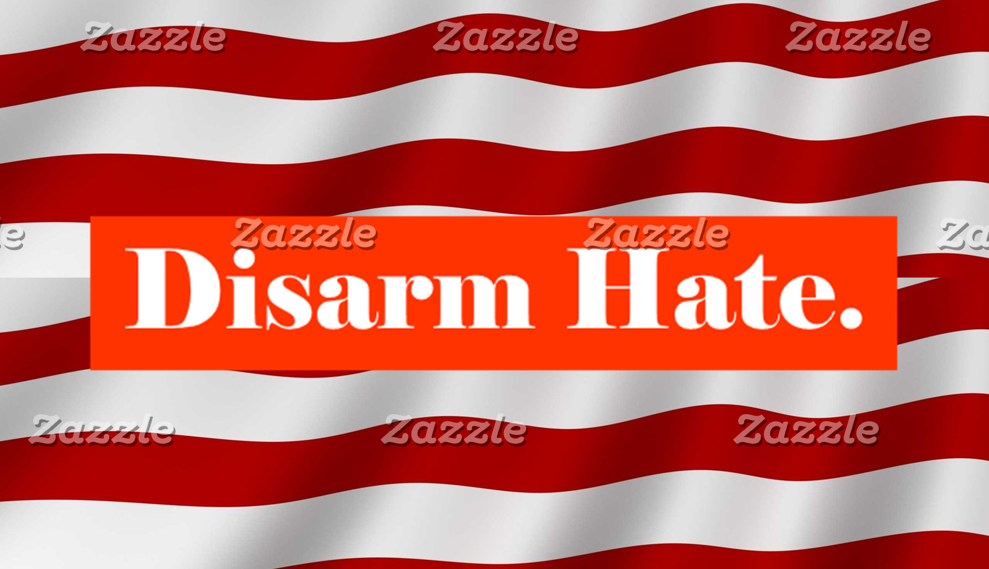 Disarm Hate.