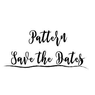 Save the Date - Pattern