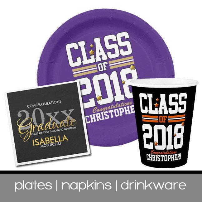 Plates | Napkins | Drinkware