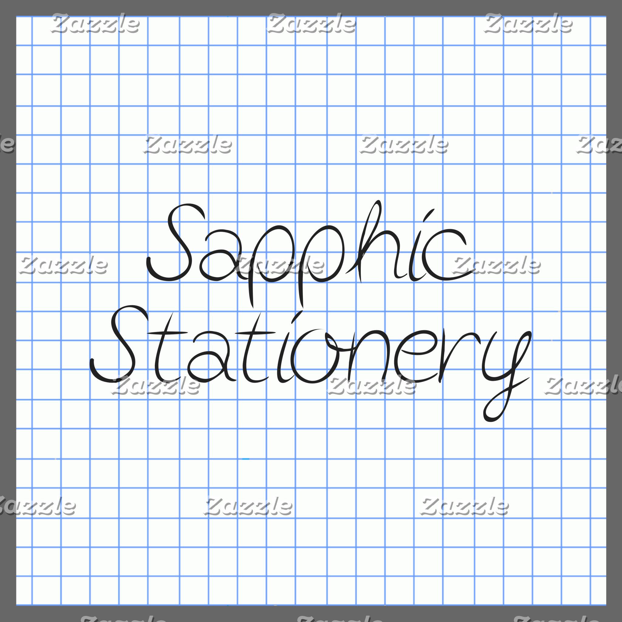 Sapphic Stationery