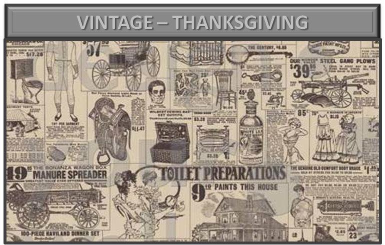 Vintage – Thanksgiving