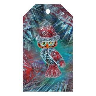 Christmas Glamour Fashion Santa Owl