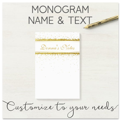Monogram, Name & Text