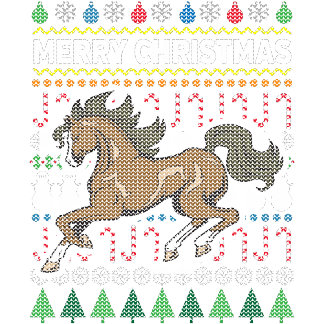 Horse Ugly Sweater