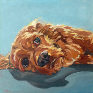 Cocker Spaniel Dog Art