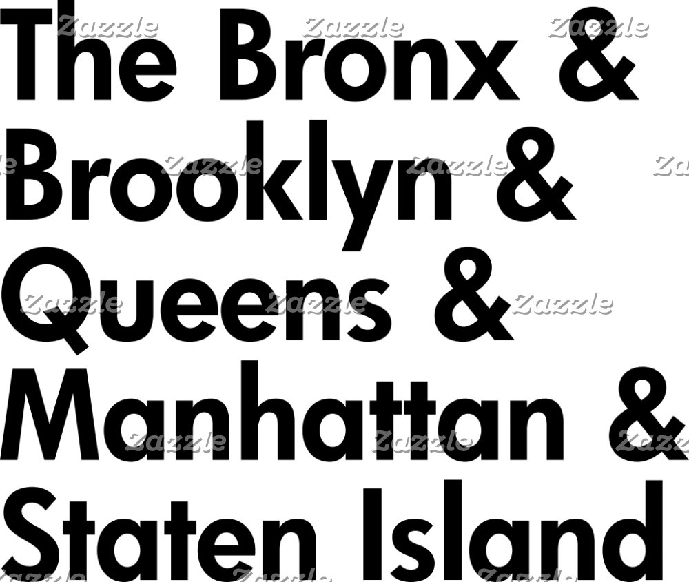 All 5 Boroughs