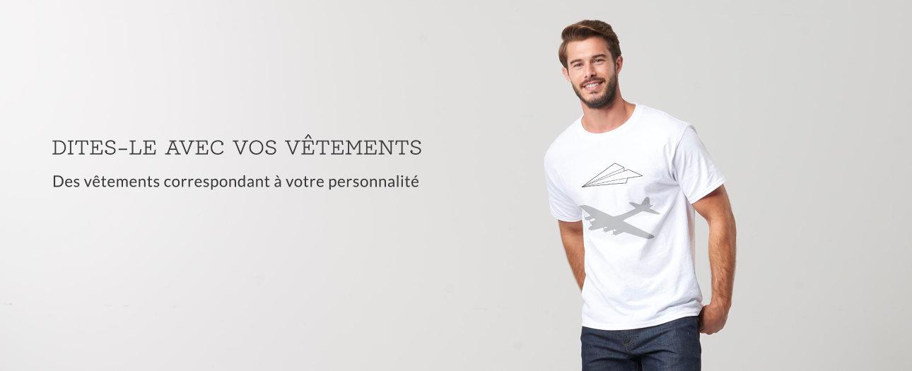 Vêtements personnalisables pour hommes sur Zazzle