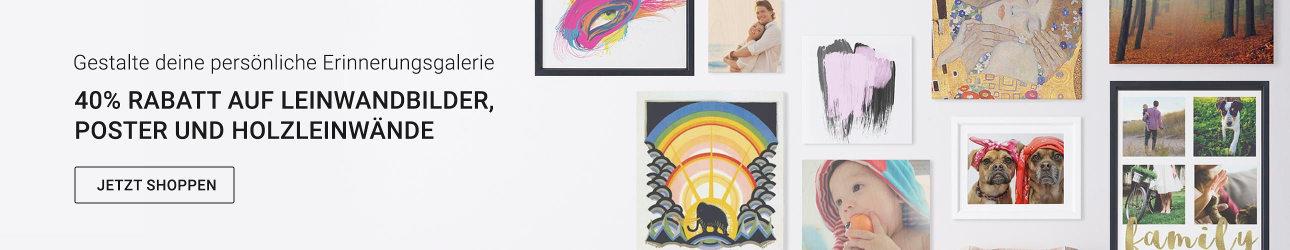 40% Rabatt auf Kunstdrucke und Poster