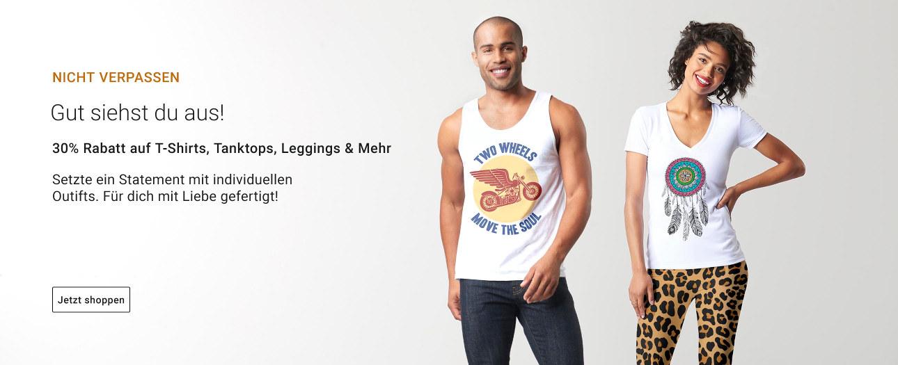 30% Rabatt auf Kleidung - Endet bald!