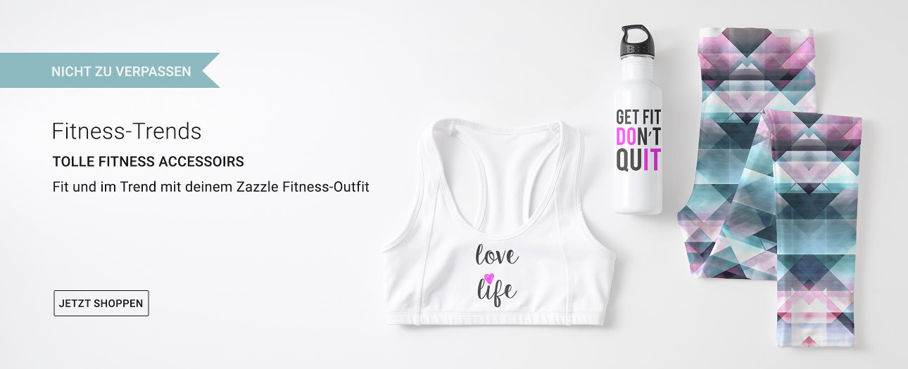 Fitness-Trends bei Zazzle