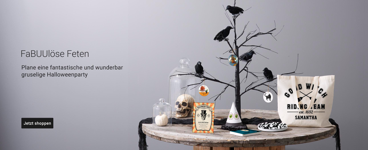 Halloweenartikel von Zazzle