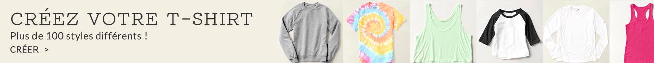 Créer vos propres t-shirts