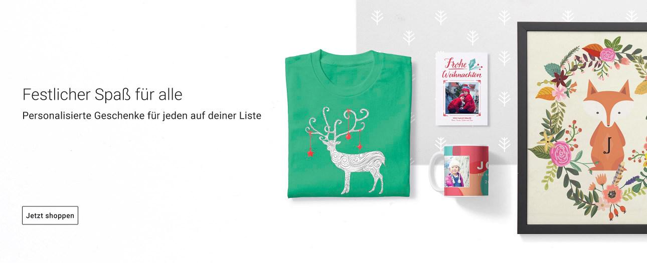 Festlicher Spaß für alle! Personalisierte Weihnachtsgeschenke von Zazzle!