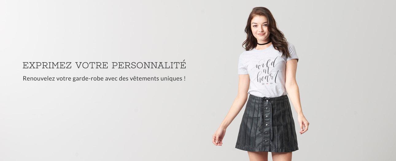 Vêtements pour femmes personnalisables sur Zazzle