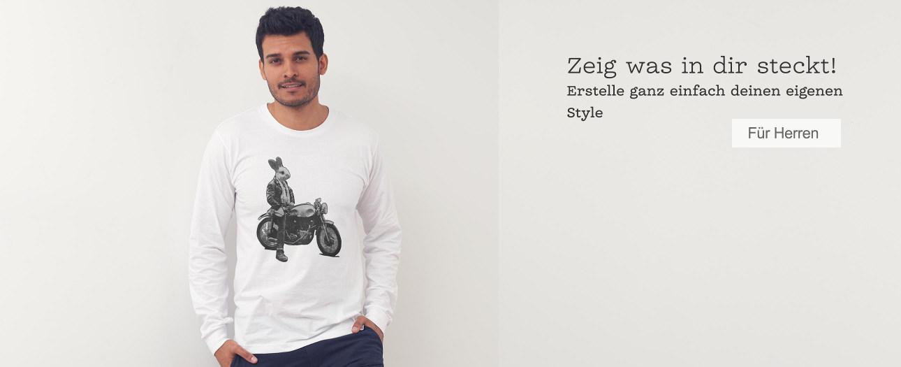 Herren-Kleidung im Hipster-Style