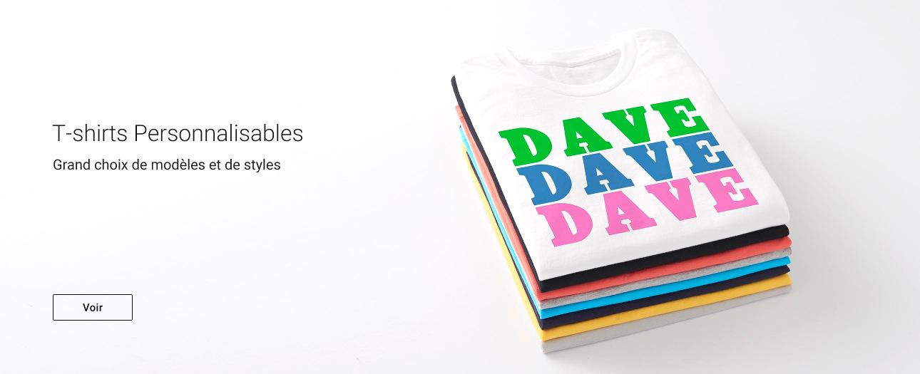 T-shirts personnalisables sur Zazzle