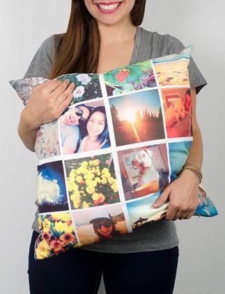 Personalisierte Kissen mit Fotos