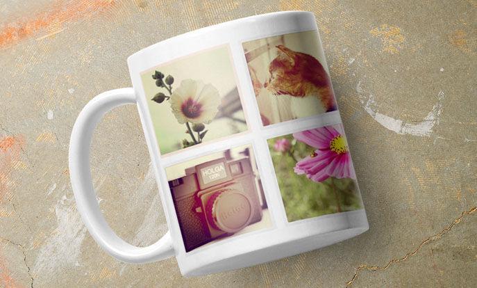 Wähle aus 9 Basistassen das richtige Modell für Dich aus und bedrucke Deine Tasse mit Fotos und Sprüchen.