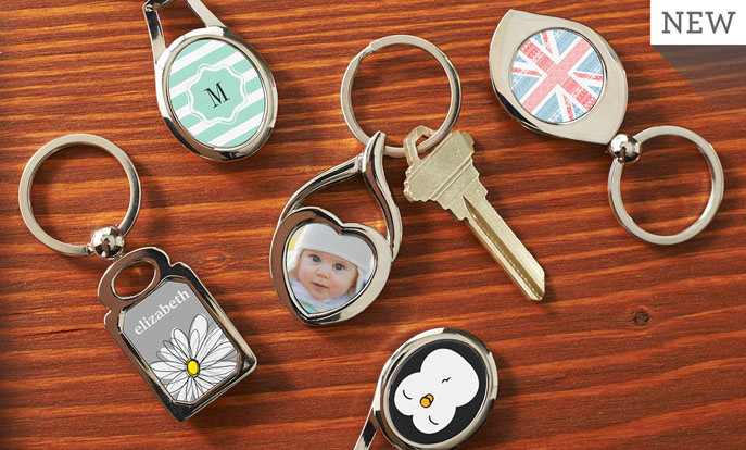 Schlüsselanhänger in allen Formen