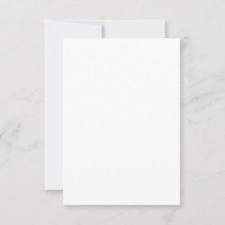 8,89 cm x 12,7 cm Flache Karte