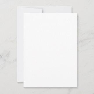 10,8 cm x 13,9 cm Flache Karte
