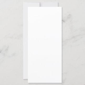 10,1 cm x 22,9 cm Flache Karte
