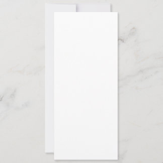 Flache Feiertagskarte, Größe: 10,2 cm x 23,5 cm, Papier: Matt, Form: Normal