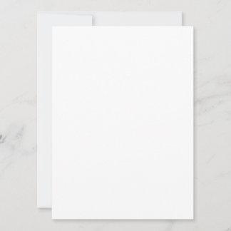 13,9 cm x 19 cm Flache Karte
