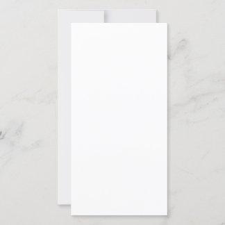 Flache Feiertagskarte, Größe: 20,3 cm x 10,1 cm, Papier: Seidenmatt, Form: Normal