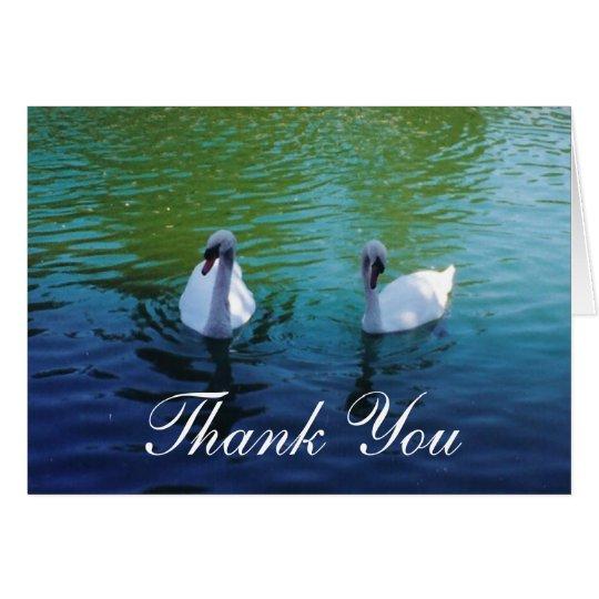 Swan See - danke Karten