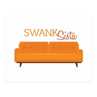 Swank Sista Postkarte