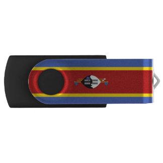 Swasiland-Flagge Swivel USB Stick 2.0