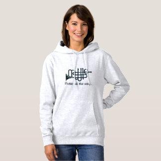 Sweatshirt à capuchon de base de musique